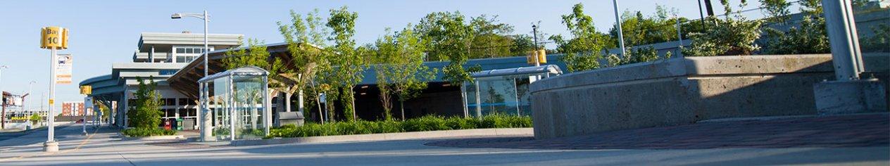 Metro transit bridge terminal