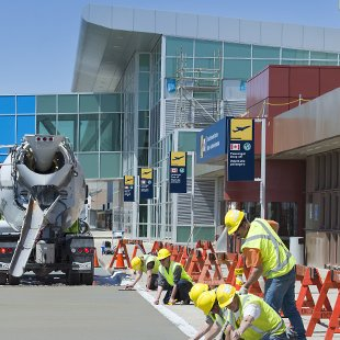 Halifax Stanfield International Airport asphalt paving