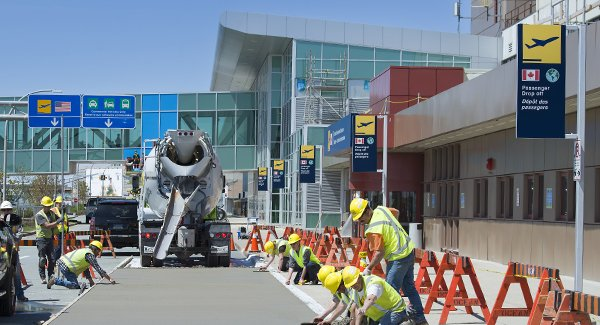 Halifax Stanfield International Airport asphalt paving