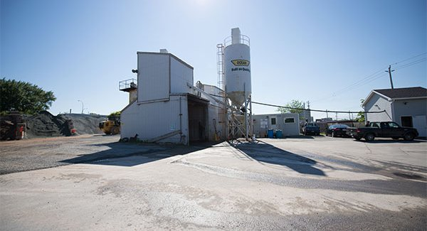 Halifax ready mix concrete truck