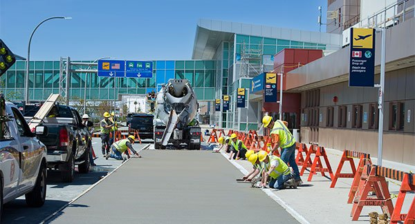 Halifax Stanfield international airport. Ocean groundside redevelopment project